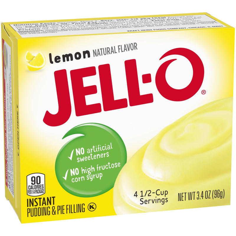 Jell-O Instant Lemon Pudding & Pie Filling 96g