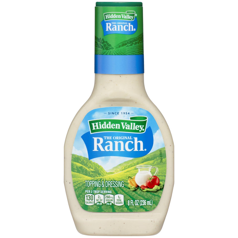 Hidden Valley Original Ranch Salad Dressing & Topping 236ml