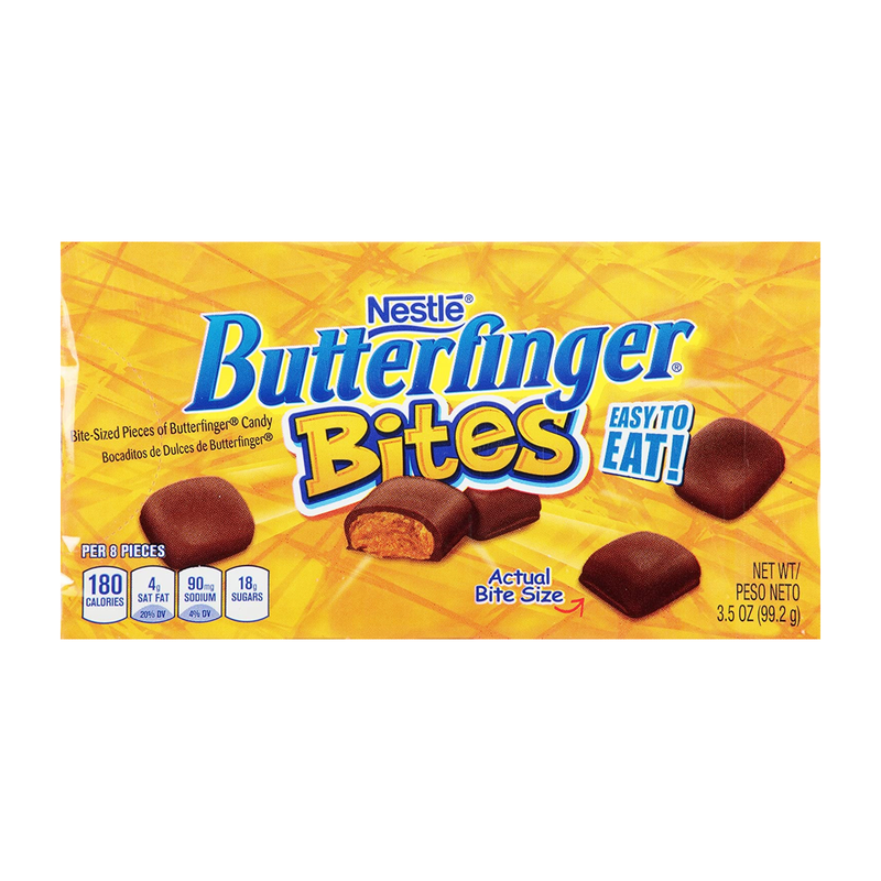 Nestle Butterfinger Bites On the Go Concession Box 99.2g