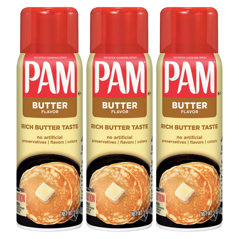 Pam Butter Flavour No-Stick Cooking Spray 141g