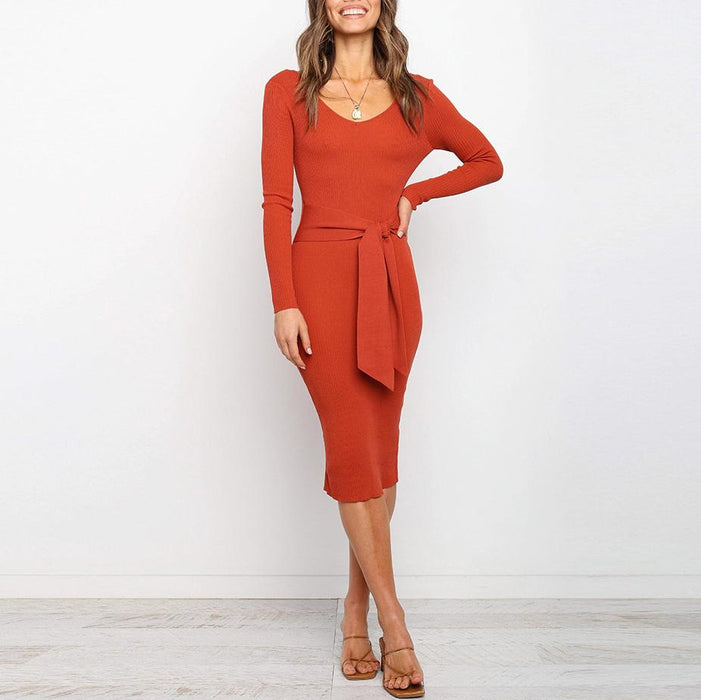 Full Sexy Elegant conventional conventional no Cotton-Blend Micro-elasticity Dress