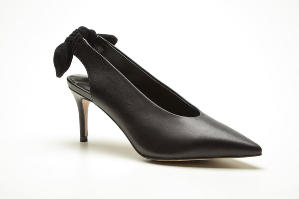 SS20001 Pointy Sling back heel with removable bow ~20% off - Sam Star shoes