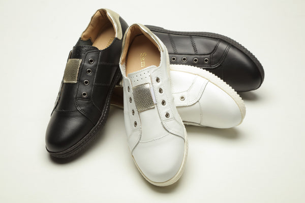 17S01 Extra cushions leather sneaker R400 off - Sam Star shoes