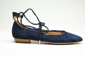 SW17001 lace up leather flats up to 50% off - Sam Star shoes