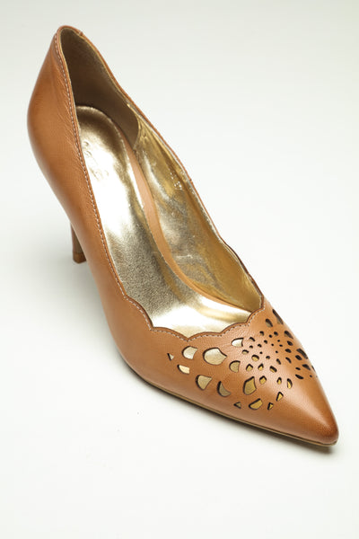 SW17003 Laser Cut Leather Court Shoes - R500 off - Sam Star Shoes