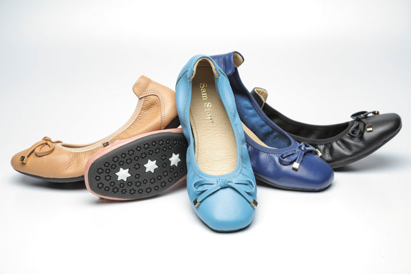 163-3  Leather pumps with rubber sole (Improved Version) R200 off selected colour - Sam Star shoes