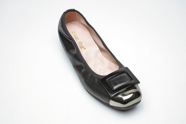 17W01 Buckle pumps with extra cushions 20% off - Sam Star Shoes