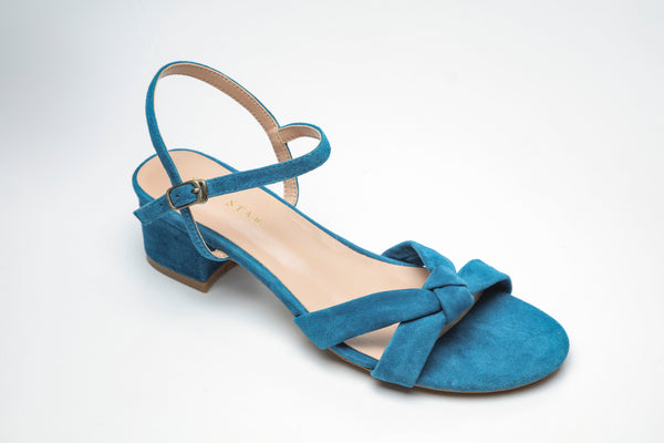 SS19003 Suede Summer Block Heel Sandal up to 30% off - Sam Star shoes