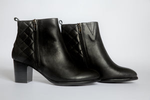 SW19009 Quilted Ankle Boots (extra cushion inside) 20% off - Sam Star shoes