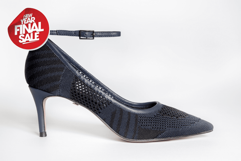 SS20004 Knit Court Shoes in Navy 30% off - Sam Star shoes
