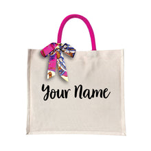 Load image into Gallery viewer, [PROMO] Exotic Canvas Bag with Color Handle