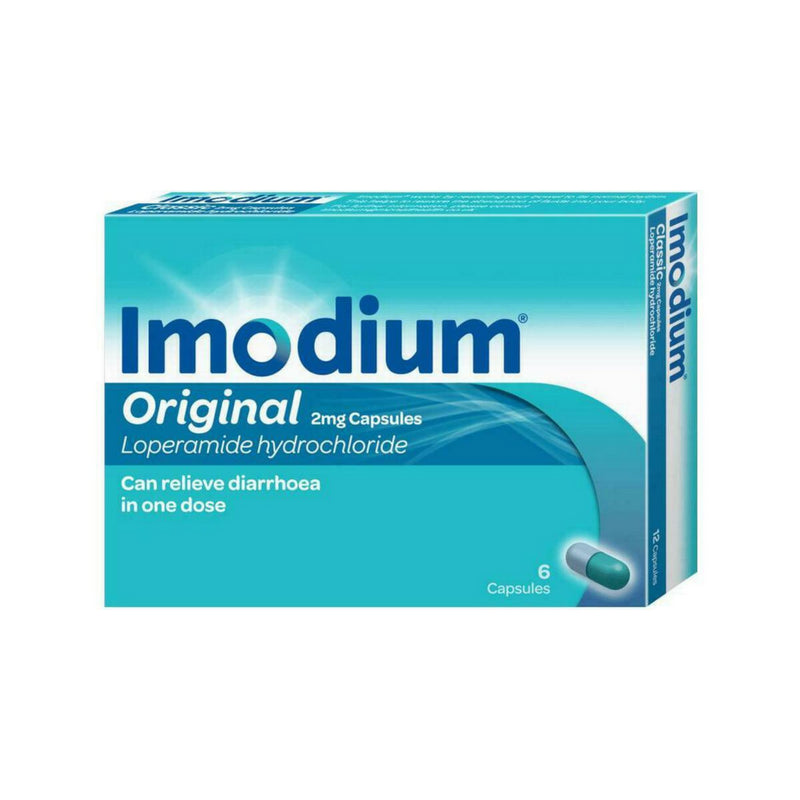 Imodium Original 2mg 6 capsules