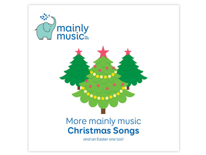 more mainly music Christmas songs CD