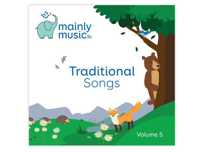 mainly music Traditional Songs Volume 5 CD