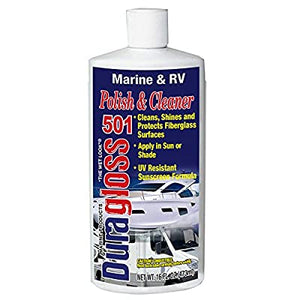 32oz - Duragloss Marine Polish #501