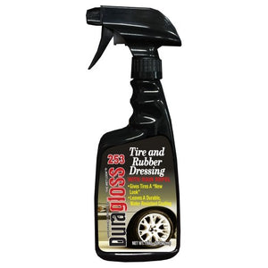 22oz - Duragloss Tire and Rubber Dressing Coating #253