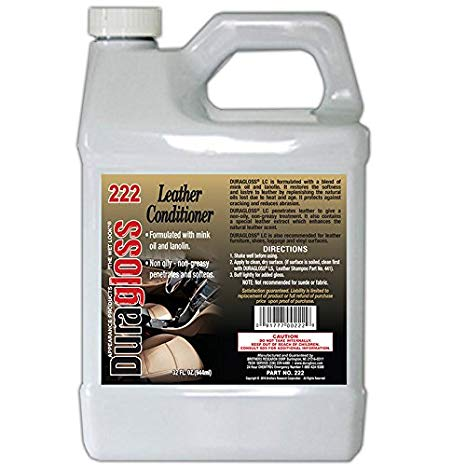 32oz - Duragloss Leather Conditioner #222