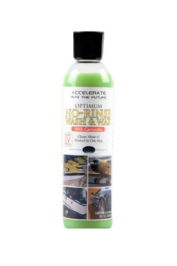 8oz - Optimum No Rinse Wash and Wax
