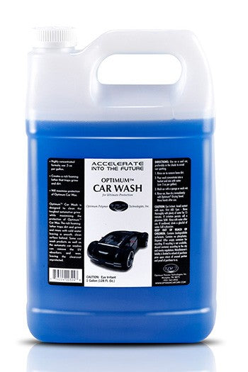128oz - Optimum Concentrated Car Wash Shampoo