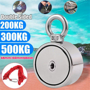 Double Sided Fishing Magnets Strong 200/300/500KG