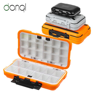 Fishing Tackle Box Waterproof Double Side Bait Lure Hooks Storage Boxes Carp Fly Fishing Accessories 12-30 Compartments