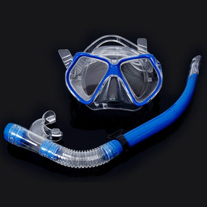 Adjustable Strap Diving Mask Tool Dive Equipment Set Kit Scuba Gear Automatic Buckle Accessories Fashion Dry Snorkel Under Water