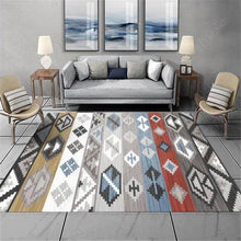 Load image into Gallery viewer, Bohemia Ethnic Style Carpets Living Room Bedroom Crystal Cashmere Printed Coffee Table Rugs European Carpet Bath Toilet Mat - LikeRE Marketplace