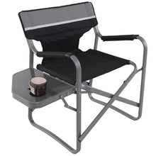 Load image into Gallery viewer, Brand New Folding Outdoor Camping Director's Chair with Cup Holder Practical Side Table Sturdy Durable Waterproof Beach Chairs - LikeRE Marketplace