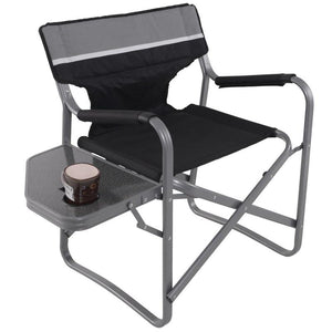 Brand New Folding Outdoor Camping Director's Chair with Cup Holder Practical Side Table Sturdy Durable Waterproof Beach Chairs - LikeRE Marketplace