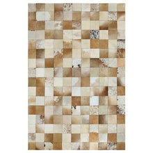 Load image into Gallery viewer, European Style Geometric Grid Carpets Living Room Bedroom Tea Table Rugs Cowhide Manual Stitching Carpet Luxurious Large Rug - LikeRE Marketplace