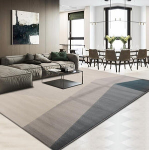 Modern Geometric Carpet Living Room Home And Office Rug Thick Polypropylene Bedroom Carpet Sofa Coffee Table Floor Mat Study Rug