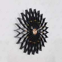 Load image into Gallery viewer, Sunflower Wall Clock Wrought Iron Personality Living Room Clocks Creative Fashion Mute Home Modern Decorative Clock R2272