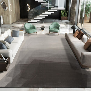 Nordic Grey Polypropylene Carpets For Living Room Ins American Style Home Bedroom Rugs Coffee Table Mat Modern Large Carpet