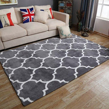 Load image into Gallery viewer, 100% Acrylic Nordic Carpet For Living Room Geometric Thicken Carpet Home Bedroom White Gray Modern Large Rugs Coffee Table Mat - LikeRE Marketplace