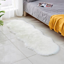 Load image into Gallery viewer, Artificial Sheepskin Rug anti skid Plush Faux Fur Carpets For Living Room Irregular Oval Sofa Kids Bedroom Room carpet 60 x 180 - LikeRE Marketplace