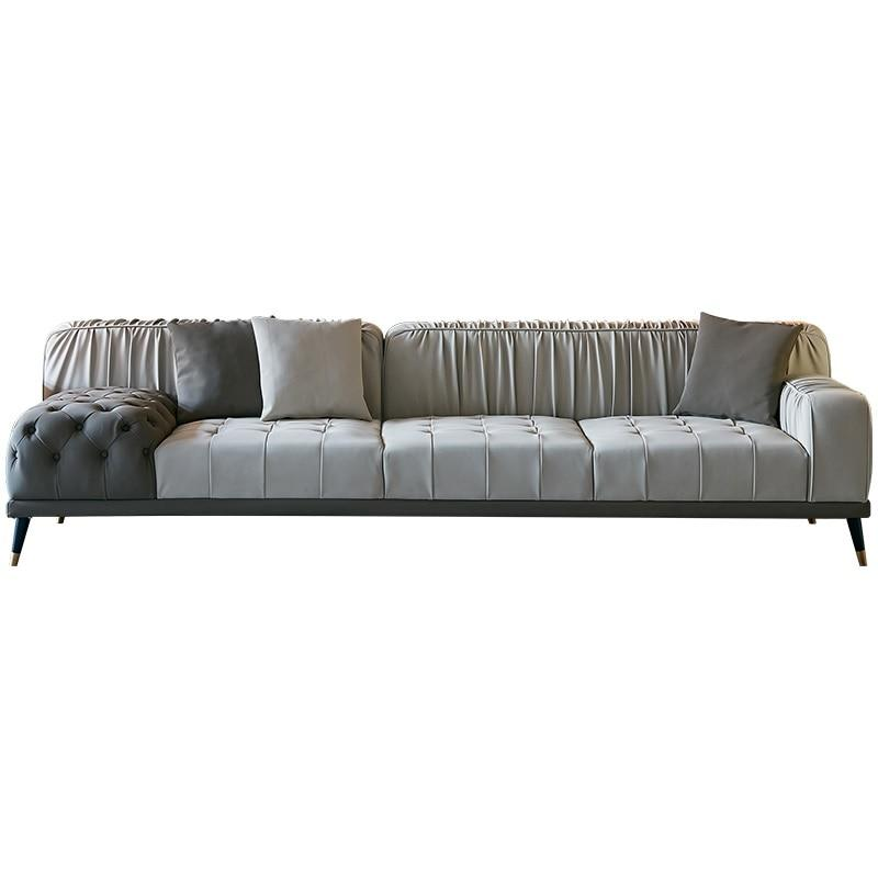 295cm Length Sofa with Eco Leather Upholstery - LikeRE Marketplace