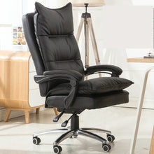 Load image into Gallery viewer, Office Chair Colorful PU Leather Office 180 Degree Reclining Massage Computer Chair Home Swivel Lifting Chaise Silla Gamer
