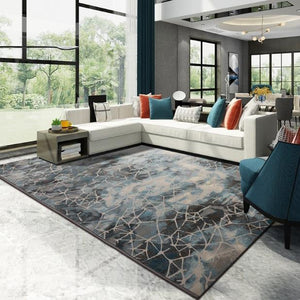 Modern Large Woven Carpet Home Living Room And Bedroom Rug Sofa Coffee Table Floor Mat Study Room Nordic Carpets And Rugs - LikeRE Marketplace