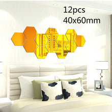Load image into Gallery viewer, New Clock Watch  3d Wall Clocks Diy Acrylic Mirror Stickers Home Decoration Living Room Quartz Needle