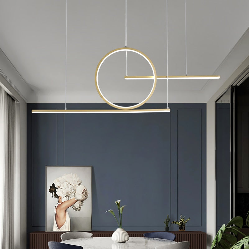 Modern Led Pendant Lights For Dining Living Room Kitchen Bar suspension luminaire suspendu Avize Lustre Pendant Lamp