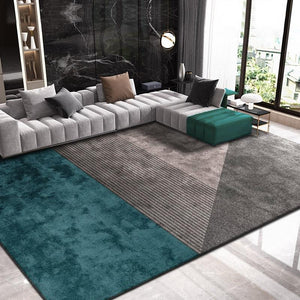 Nordic Upscale Carpets For Living Room Home Bedroom Rug Thick Sofa Cofffee Table Shaggy Carpet Modern Soft Study Room Floor Mat - LikeRE Marketplace