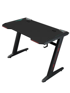 Professional reinforced and stable computer desk with headset