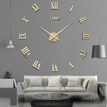 Load image into Gallery viewer, Special Offer 3d Big Acrylic Mirror Wall Clock Diy Quartz Watch Still Life Clocks Modern Home Decoration Living Room Stickers