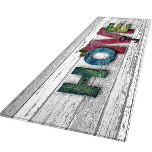 9 style Living room/bedroom Antiskid Soft Solid Rug Carpet Hallway Doormat Anti - Slip Carpet Absorb Water Kitchen Mat 60X180 CM - LikeRE Marketplace
