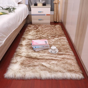 carpet for living room modern plush soft fluffy bedroom bedside carpet bay window sofa chair pad white gray carpet large carpet - LikeRE Marketplace
