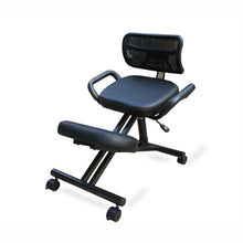 Load image into Gallery viewer, Ergonomically Designed Knee Chair with Back and Handle Office Kneeling Chair Ergonomic Posture office chair