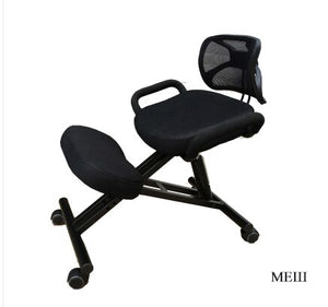 Ergonomically Designed Knee Chair with Back and Handle Office Kneeling Chair Ergonomic Posture office chair