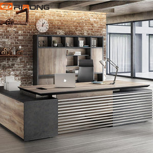 280cm Manmade Industry Office furniture Design Standing Computer Work Desktop Director Office Executive Table Desk - LikeRE Marketplace
