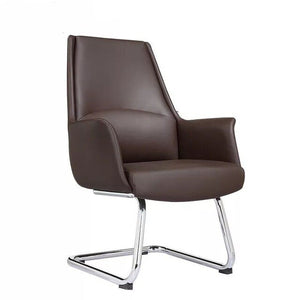 Office chair simple modern lift reclining leather art swivel chair president large class manager executive computer  Boss chair