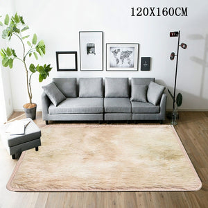 Living Room Bedroom Rug coffee table blanket Ultra Soft Modern Area Rugs Shaggy Mats Home Room Plush Carpet Modern Home Decor #4